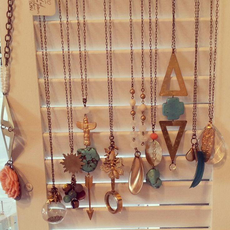 Boho chic necklaces