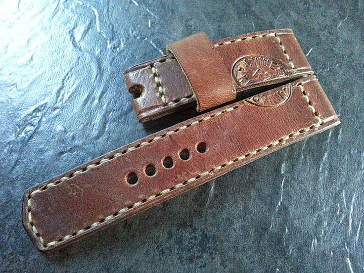 ammo straps 24 mm - Ammo straps Handmade watchstraps for Panerai 22mm 24mm 26mm