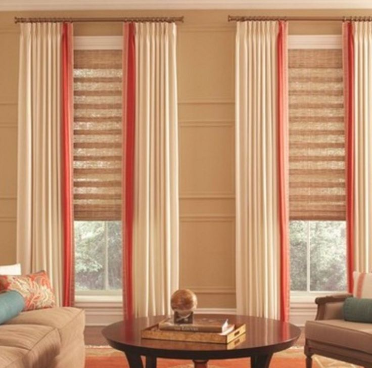Allure Transitional Shades and Interior Masterpieces Draperies