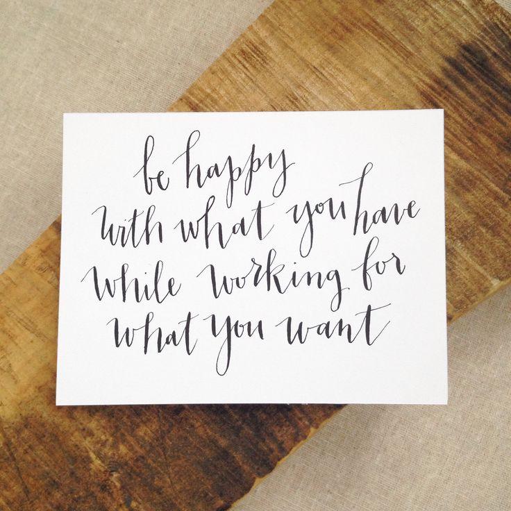 Modern calligraphy emilyecavanagh quote