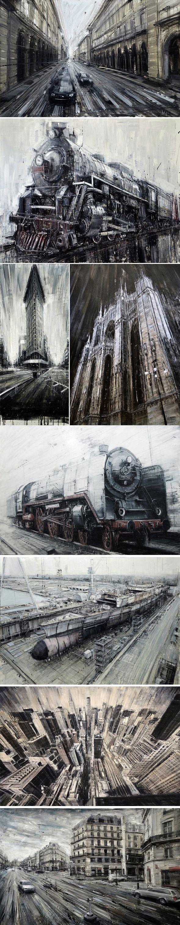 Peintures à l'huile par Valerio D'Ospina - Journal du Design