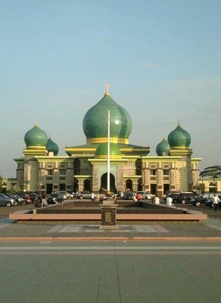 Masjid An-Nur, Pekanbaru, Indonesia