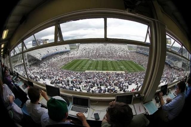 PENN STATE – FOOTBALL 2014 – Penn State football began to write its latest chapter on Monday when the Nittany Lions opened up training camp for the first time under new head coach James Franklin.