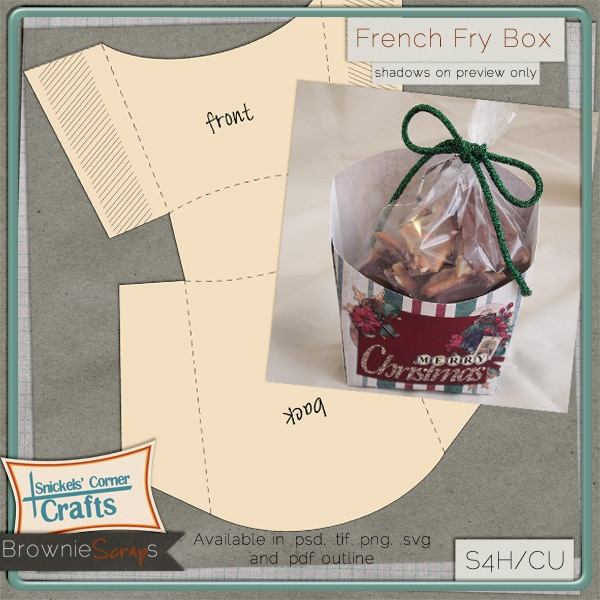 french fries packaging template - 27 best images about fry box on pinterest christmas