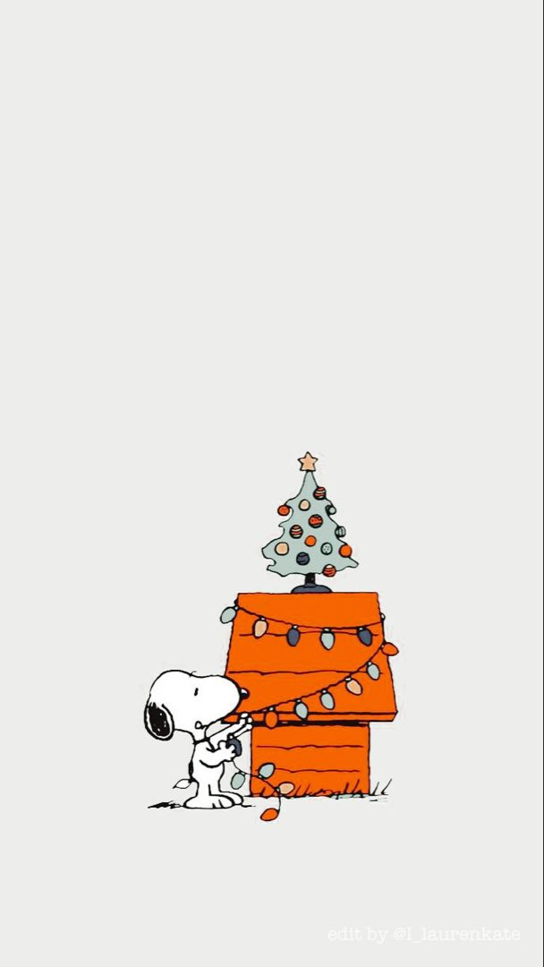 Awesome snoopy christmas wallpaper for