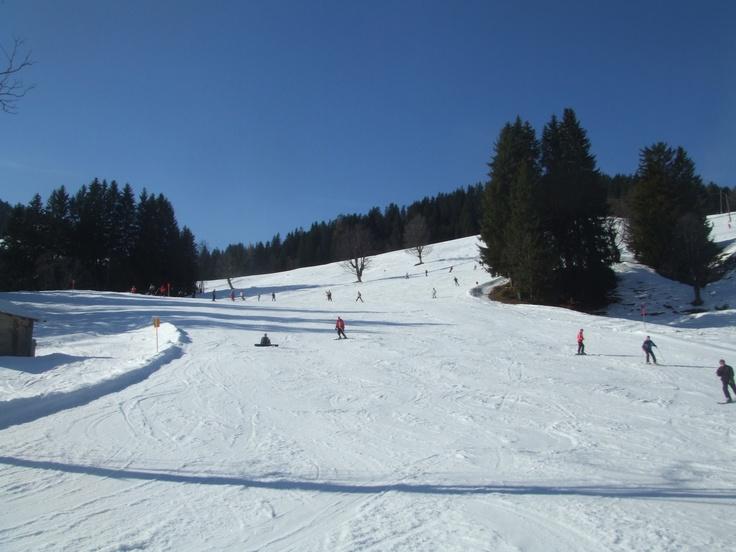 Skiing...especially in Soll, Austria
