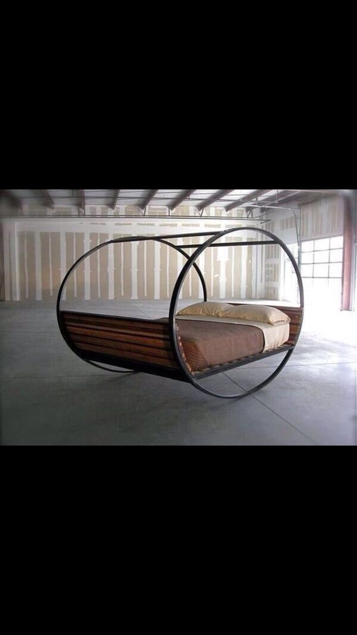 Sex would be interesting on this bed for sure