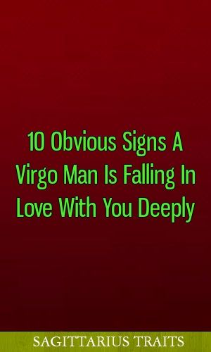signs an aquarius man is falling for you