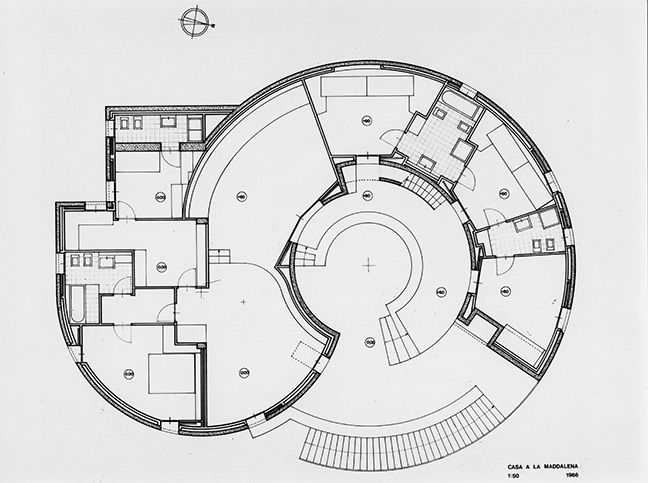 Casa Rotonda - Cini Boeri - Foto di Paolo Rosselli