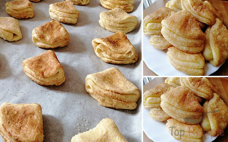 Mix only three ingredients and you get these tender quark fans for coffee   – Backen