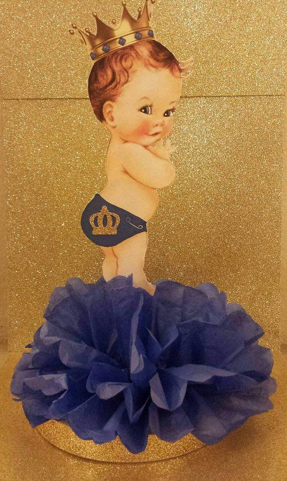 Real pequeño príncipe azul y oro bebé por KhloesKustomKreation