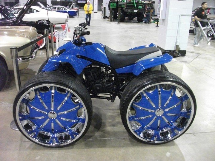 Four Wheelers With Rims : Best images about wheelers on rims pinterest