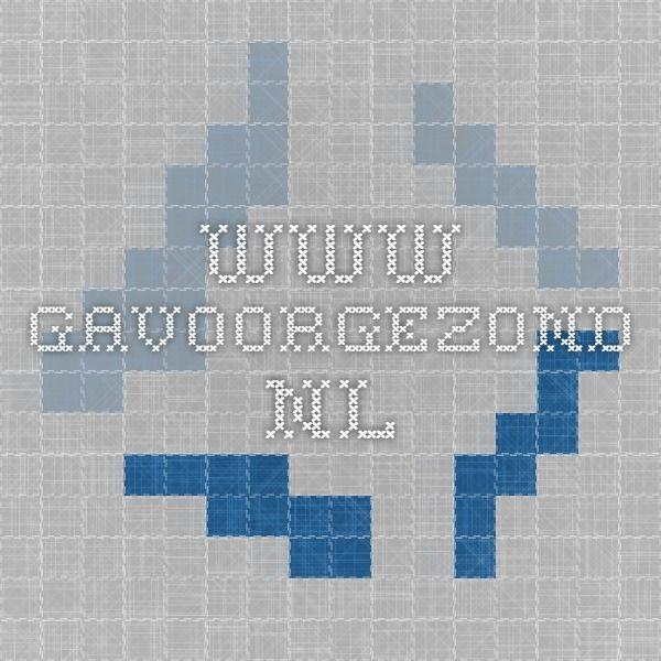 www.gavoorgezond.nl