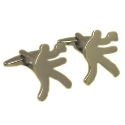 Silver #table tennis #player #cufflinks with gift pouch indoor game bat ball new,  View more on the LINK: 	http://www.zeppy.io/product/gb/2/290977567371/