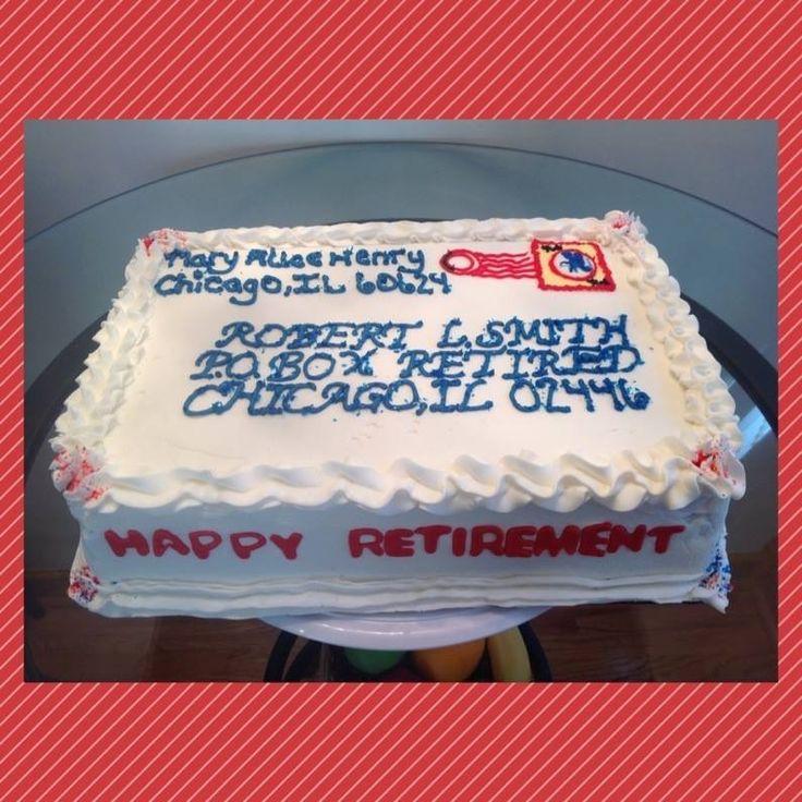 Postal Carrier Cake