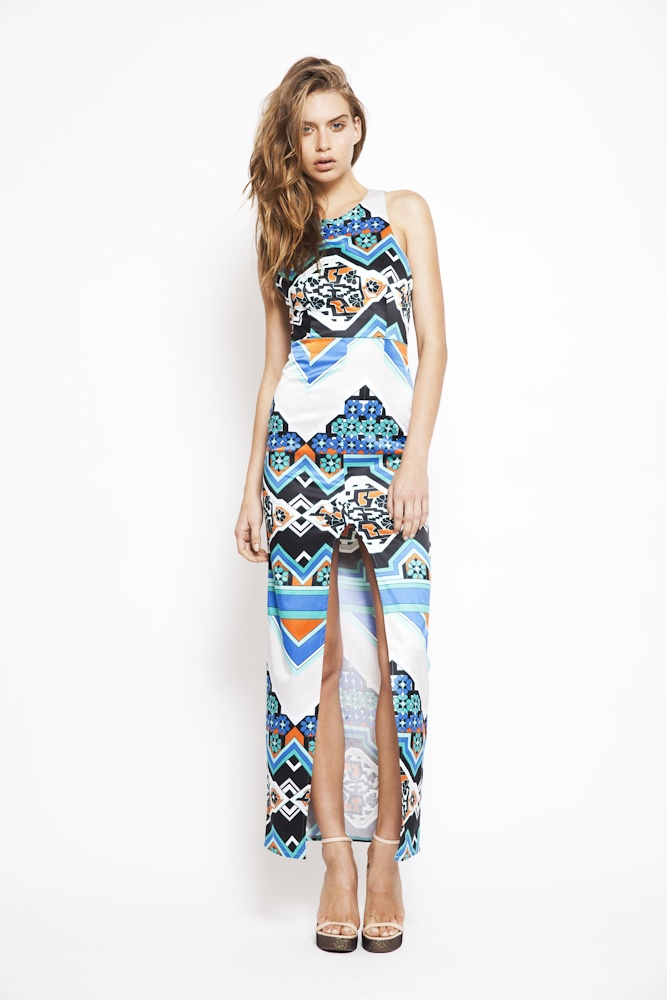 passion pop maxi dress RRP $240