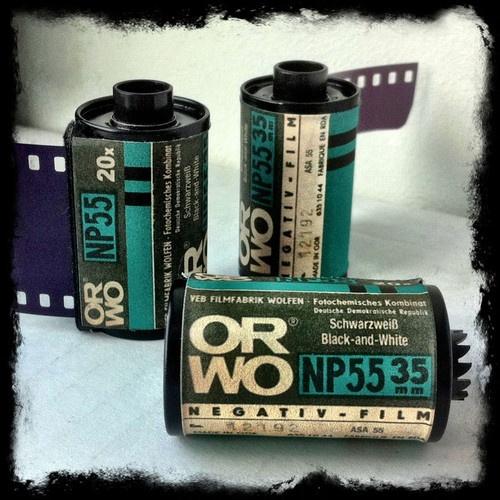 25 Rolls of Ultra RARE 35mm Film Orwo Kodalith Svema Double x See Examples | eBay