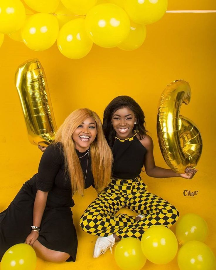 #Twosday @official_mercyaigbe x @michelleio__ ❤❤ • Happy Birthday @michelleio__ 🎉🎉, best wishes from Africanandslaying