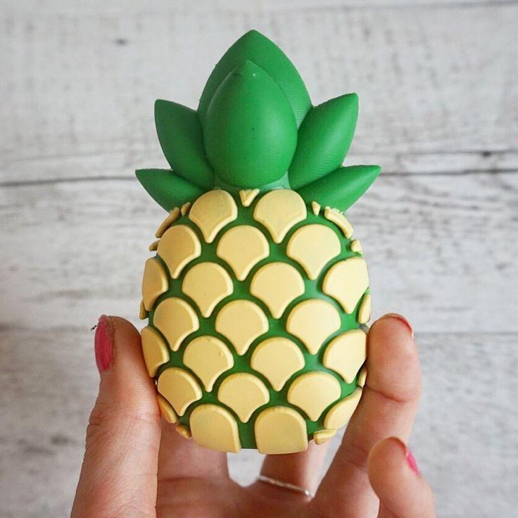 Sunrise Pineapple Emoji // Portable Charger Power Bank