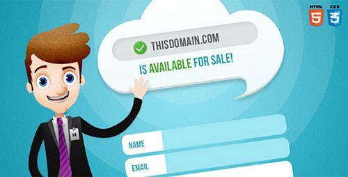 ThemeForest - Salesman - Domain For Sale Template - RIP