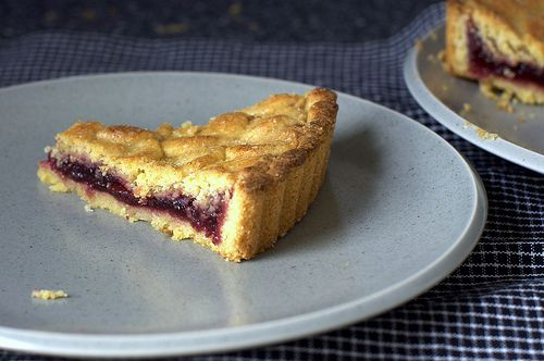I think not for Pie Day, but I really really wish I had a piece of this Jam Tart RIGHT NOW.