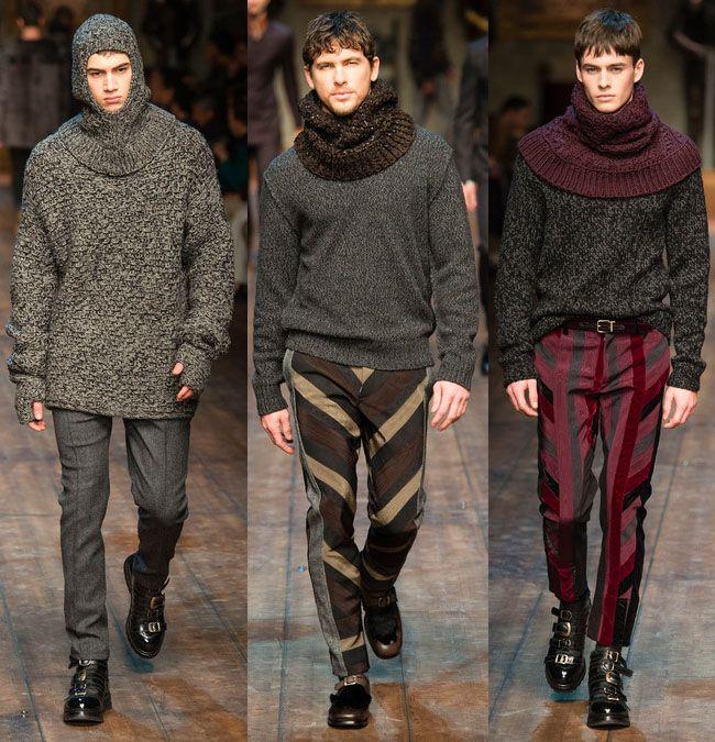 Модные мужские луки осень-зима 2015-2016