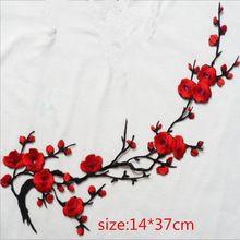 1 пара цветы цветочные ретро boho хиппи аппликация железа патч вышитые горячего патчи наклейки одежды аппликации поделки аксессуар(China (Mainland))