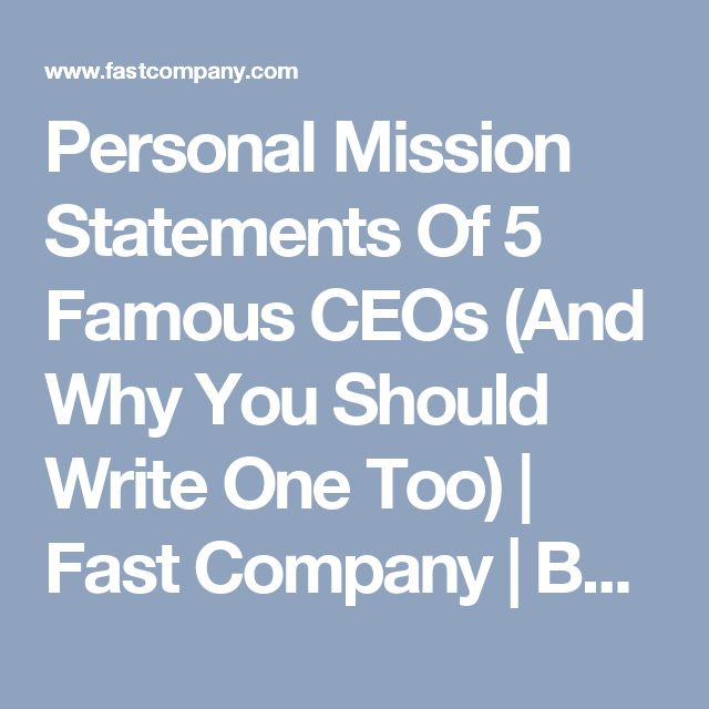 Fortune 500 company mission statements for Ford motor company mission statement