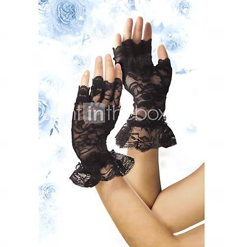 guantes de encaje
