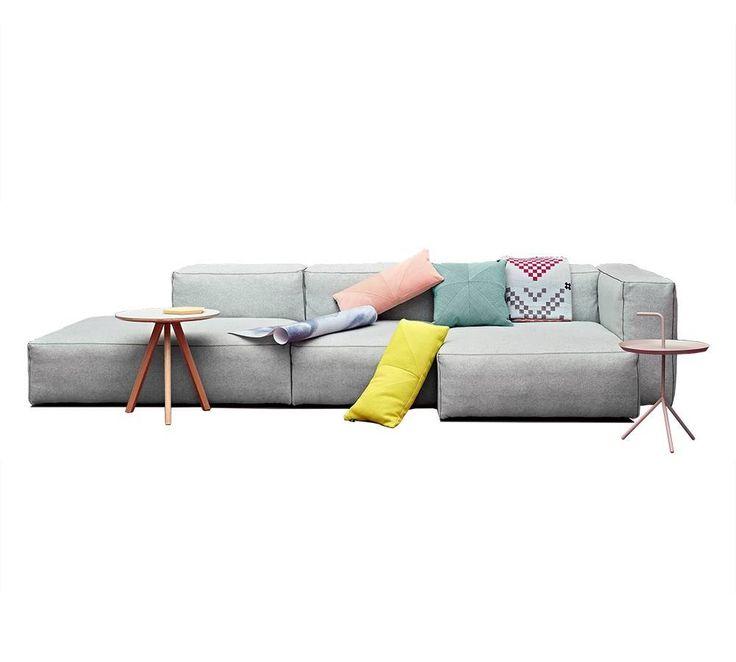 HAY Mags Soft Modulaire bank. Ontzettend fijne bank met Kvadrat kwaliteits stof. Alleen bij Living and Company online samen te stellen!