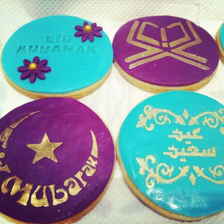 Eid mubarak cookie stencils from stenciland