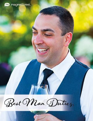 Beyond the bachelor party and best man speech: Read these best man duties to learn what the main responsibilities are for the best man in a wedding.