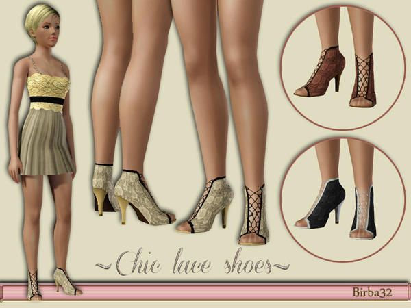 Birba32's Chic lace shoes