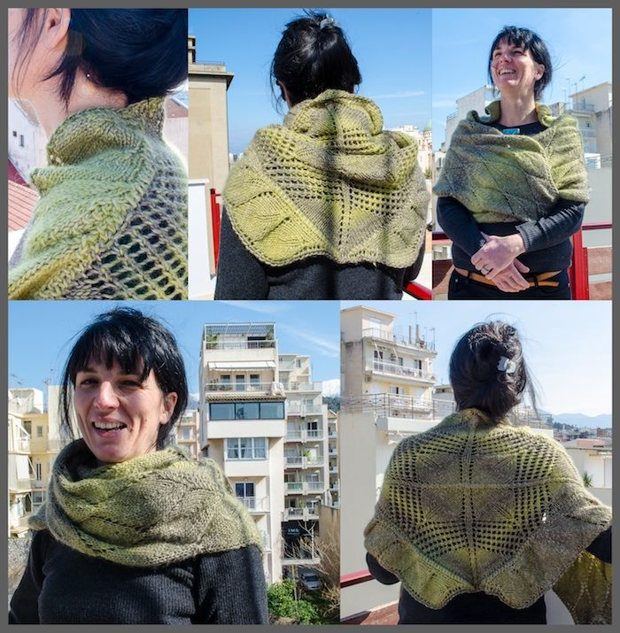 Templeton Wrap - Knitting Shawl Pattern - Über den Traum - 4.50 €