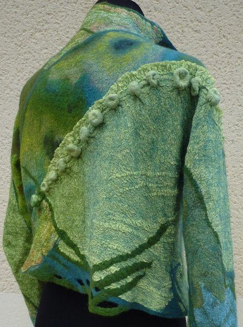 Feutre Art Textile: Formation de perfectionnement avec Annelie Petitqueux