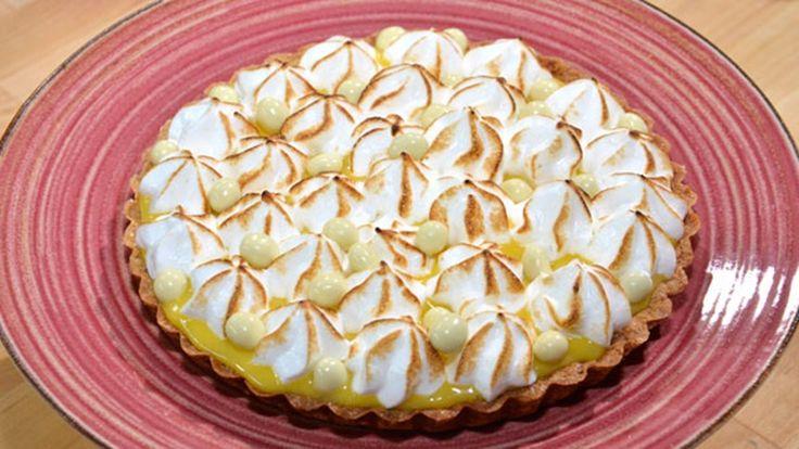 Merengli Limon Kremalı Tart