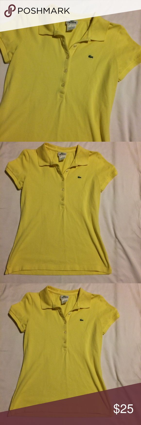 Lacoste Women's Top Sz 40 Preowned Great Condition Women's Top Lacoste Tops
