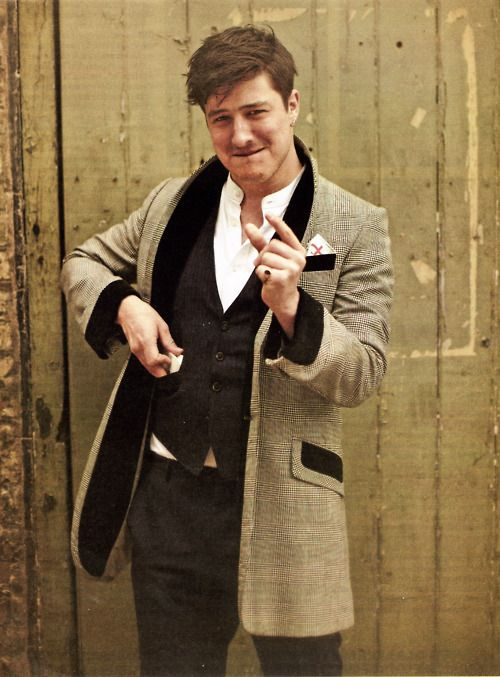 Marcus Mumford.  Amazing musician and a wonderful person <3