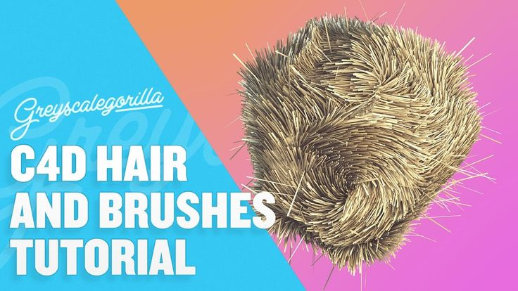 Cinema 4D Hair - Learn how to grow and control hair in Cinema 4D
