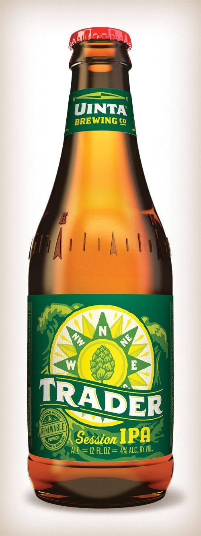 Uinta Brewing Co.: Trader......wonderful !....Enjoyed this at the Rio Grande Cafe in Salt Lake City, Utah