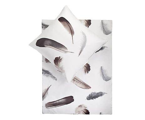 Bettwäschegarnitur Farren, 2-tlg., 135 x 200 cm