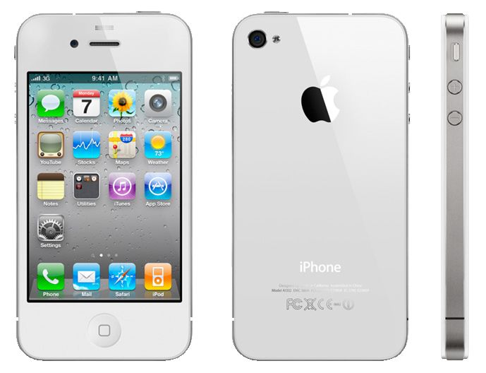 My white iphone 4s. Never thought I'd switch from BlackBerry...but I have to say....life is better on the other side.