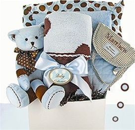 12 best luxury baby gift ideas images on pinterest baby gift the perfect gift basket personalized deluxe swanky dots boy remember this site when i need a different kind of baby gift tired of giving the same thing negle Gallery