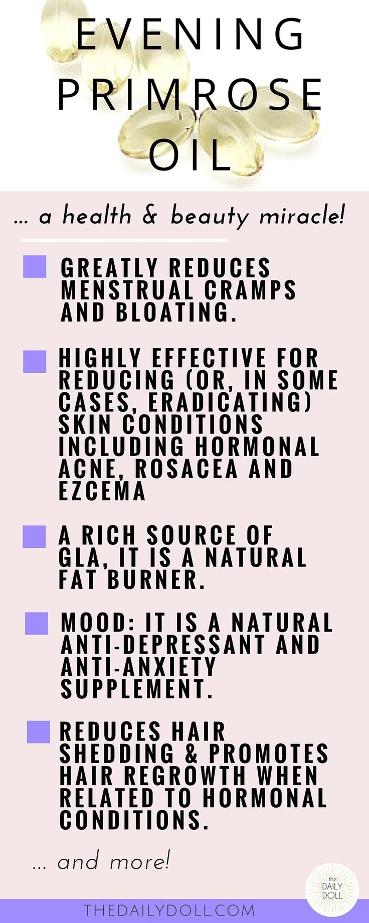 You Maca Me Crazy! An Outspoken Guide to Happier Lady Parts -- Evening Primrose Oil is a PMS Cure, Balances Hormones