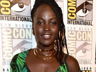 Lupita Nyong'o Went Undercover at Comic-Con as the Pink Power Ranger -- Watch!