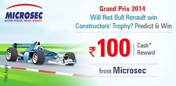 #Predict whether #RedBull #Renault will win the Constructors' Trophy for #GrandPrix  http://www.foreseegame.com/user/GamePlay.aspx?GameID=YRD4Wu8SMvRRCxTjGx9Vog%3d%3d