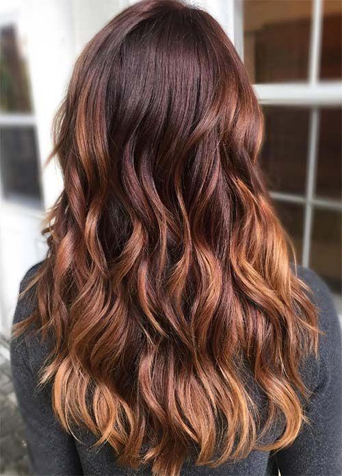 Ombr hair marron glac - Ombre hair marron caramel ...