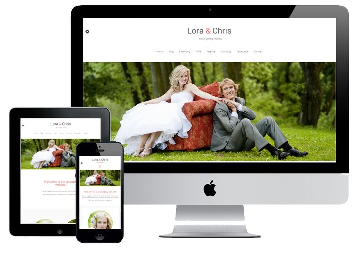 Esküvői honlap, akár ingyen! A mai digitális világban ez elengedhetetlen!