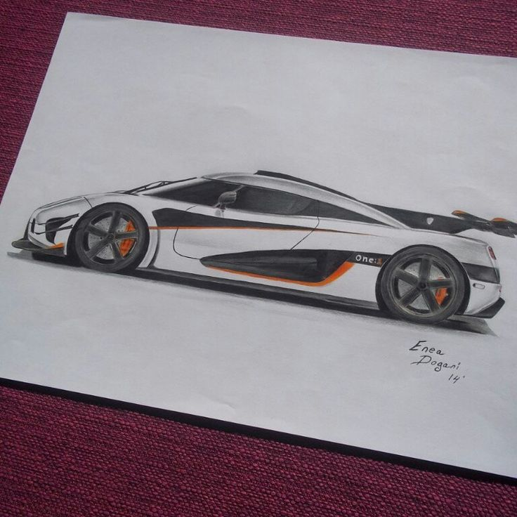 Koenigseg One:1 #Drawing
