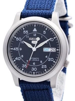 Seiko 5 Military Automatic Nylon Strap SNK807K2 Mens Watch